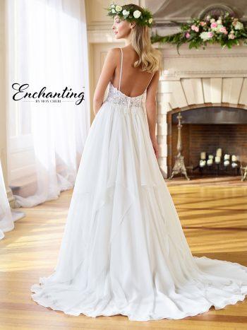 Απλό-ρομαντικό-νυφικό-από-δαντέλα-chiffon-σε-Α-γραμμή-Enchanting-218182-VENETTI