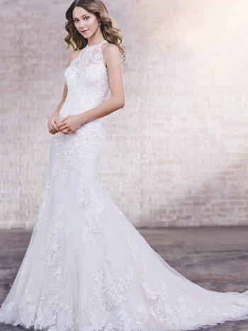 νυφικό-φόρεμα-γραμμή-τρομπέτα-τουλι-δαντέλα-219220-venetti-mon-cheri