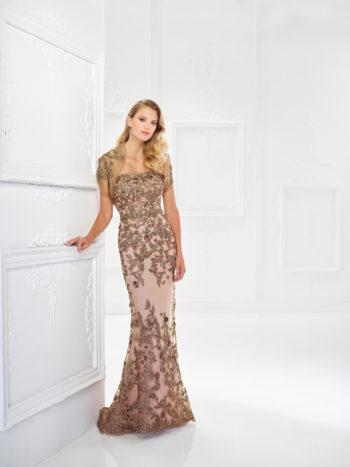 Ρομαντικό-Στραπλες-Βραδινό-Φόρεμα-για-τη-μαμά-Montage-118961-VENETTI