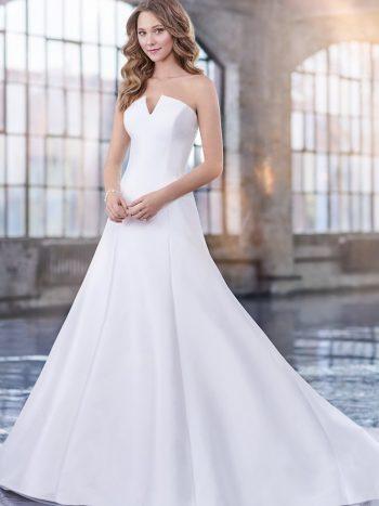 απλό-νυφικό-φόρεμα-γραμμή-τρομπέτα-mikado-σατειν-219203-VENETTI-MON-CHERI