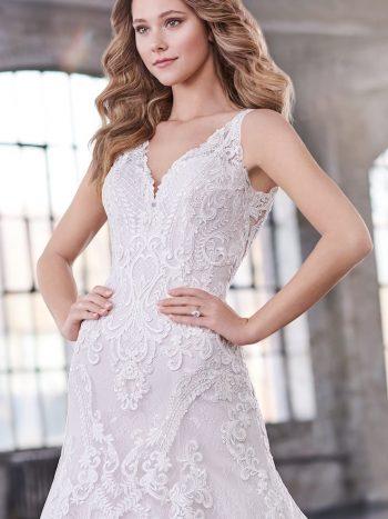 νυφικό-φόρεμα-γραμμή-τρομπέτα-τουλι-δαντέλα-219206-venetti-mon-cheri