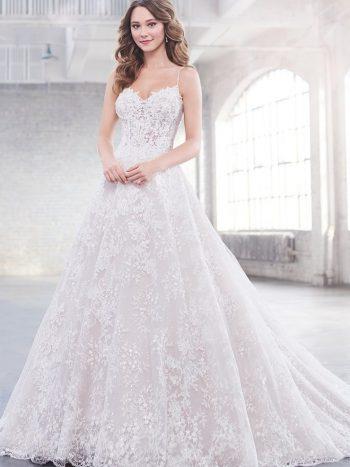 νυφικό-φόρεμα-γραμμή-πριγκιπικη-τουλι-παγετα-δαντέλα-πριγκιπικο-219213-venetti-mon-cheri