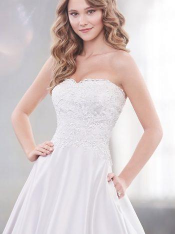 νυφικό-φόρεμα-γραμμή-πριγκιπική-οργαντζα-σατέν-απλό-κλασσικό-δαντέλα-219217-venetti-mon-cheri