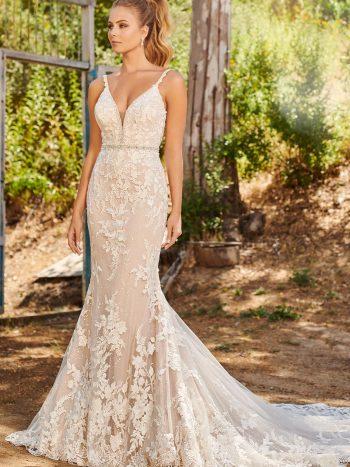 νυφικο-φορεμα-δαντελα-τουλι-glitter-γοργονα-ισιο-εφαρμοστο-120234-mon-cheri-venetti